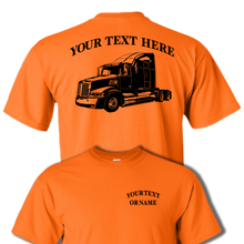 WESTERN STAR 5700 Semi Truck - Big Rig - 18 Wheeler - Personalized Custom Cotton T-shirt - #BR013
