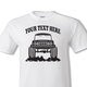 White Early Bronco t-shirt