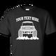 Black Early Bronco t-shirt