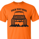 SafetyOrange Early Bronco T-shirt