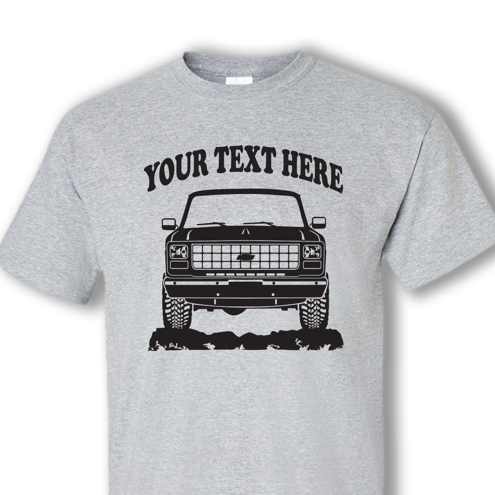 """CHEVROLET /"""" Personalized /"""" Available Ur text T-shirts"""