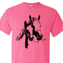 mare an foal safety pink shirt