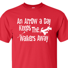 Arrow walker red t-shirt