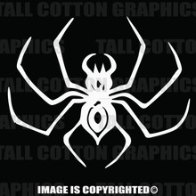 White Spider decal
