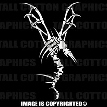 white dragon bones decal
