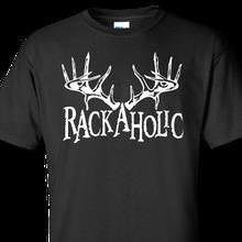 rackaholic black t-shirt