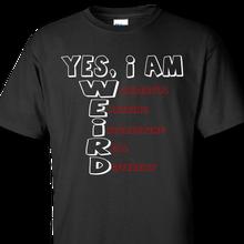 weird black t-shirt