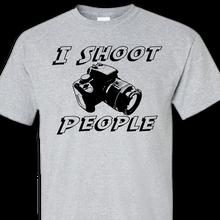 shoot grey t-shirt