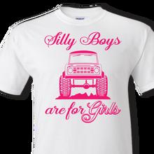 sillys boys bronco white t-shirt