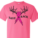save a rack safety pink t-shirt