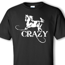 horse crazy black t-shirt