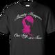 hairdresser black t-shirt
