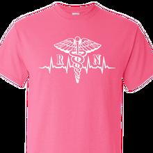 registered nurse safety pink shirt