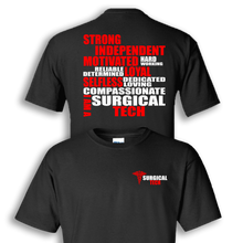 surgical tech black shirt