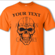 Safety Orange shirt black design