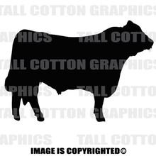 black angus black decal