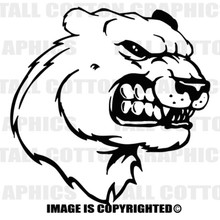 lioness black vinyl decal