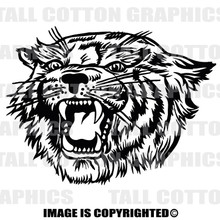 bobcat black vinyl decal