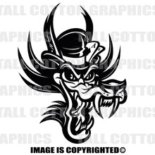 bad wolf black vinyl decal