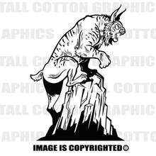 bobcat black vinyl decal