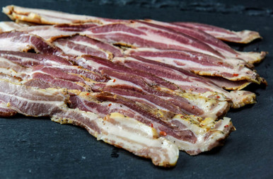 Pastured Pork Bacon (Sugar Free, Naturally Cured)