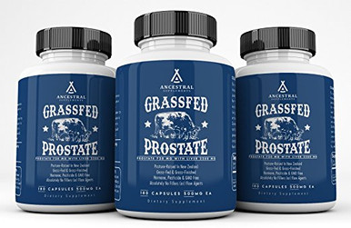 BOVINE PROSTATE (W/ LIVER) CONTAINS... Healthy Prostate Building Blocks... Prostate Specific Proteins, Peptides, Enzymes & Cofactors Molecular Biodirectors — DNA Blueprints To Healthy Tissue Methylation Raw Materials (folate, choline, B12, methyl donors)