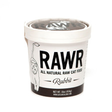 Great for kitties with seasonal allergies, stomach sensitivities, or a poultry allergy. RAWR's leanest and most sustainable dinner offering. We work with two local farms.