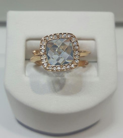 Rebecca adjustable ring #14 B14AOT32