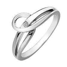 Hot Diamonds ring Forever DR119 (size 7.5)