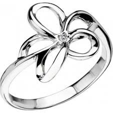 Hot Diamonds ring Paradise Open Flower DR092 (size 8.5)