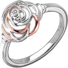 Hot Diamonds ring Eternal Rose DR123 (size 6)