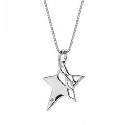 Hot Diamonds necklace Arabesque Eclipse Star DP205