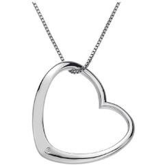 Hot Diamonds necklace Extravagance Open Heart DP429