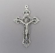 "Filigree 2"" Rosary Crucifix ~ Large"
