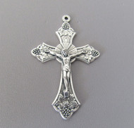 "GRAPE Rosary Crucifix 2"" LARGE"