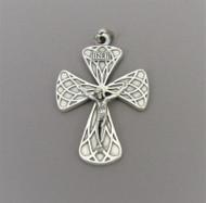 Harlequin Large Rosary Crucifix