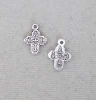 Four 4 way Medal Cross TINY ~ Lot 2