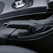 BMW Leather Handbrake Handle