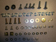BMW 2002 Rear Bumper Fastener Kit 1971-73