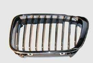 BMW E46 Front Kidney Grille up to 08/01 Chrome