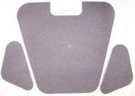 BMW 2800cs 3.0cs 3.0csi Hood Insulation Pad Set