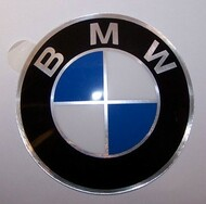 BMW 82 mm Hubcap Badge Emblem Sticker 2002 530i 3.0S