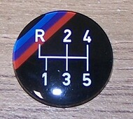 BMW Gear Knob Badge Close Ratio 5-Speed