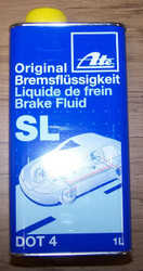 DOT 4 Brake Fluid (1 liter can) Ate Original