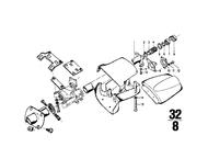 BMW Screw for Steering Column Trim