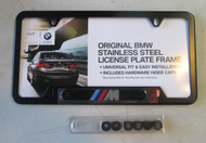 "BMW ""M"" Black License Plate Frame"