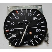 BMW 2002, 2002A, 2002tii Speedometer W=1.39