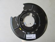 BMW E9 3.0cs Rear Disc Brake Backing Protection Plate