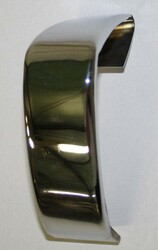 BMW 1600 2002 Chrome Rear Bumper Cover 39mm