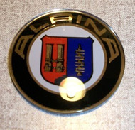 BMW Alpina Wheel Plastic Center Cap Emblem 45mm